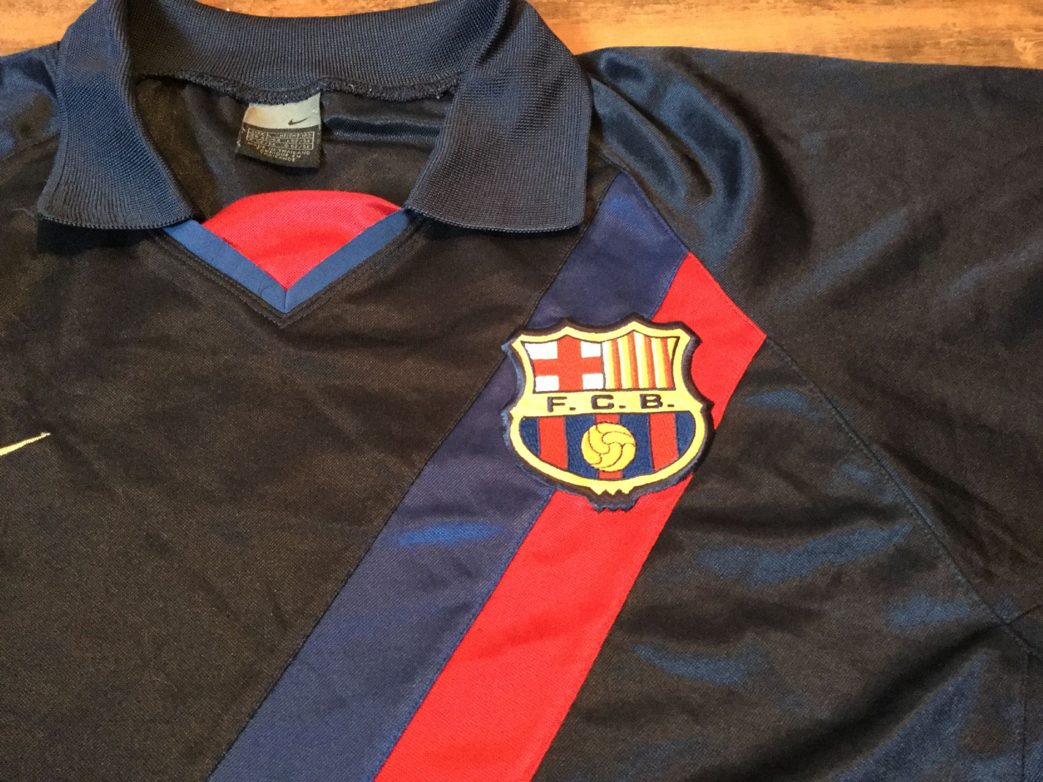 new styles b3a9f 11f63 Global Classic Football Shirts | 2002 Barcelona Vintage Old ...